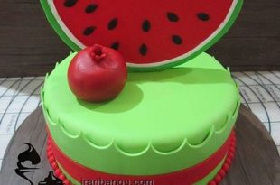 کیک شب یلدا برای عروس