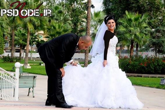 غروس و داماد عکس عروس و داماد