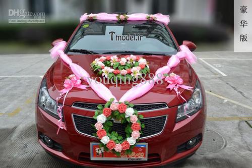 مدل تزئین ماشین عروس 2016