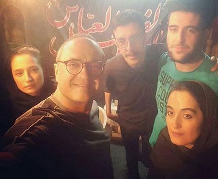 عروس داماد قلاب بافی عکس های جدید بازیگران در اینستاگرام سری جدید