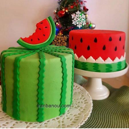 طرز تهیه کیک شب یلدا