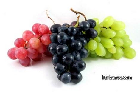 انگور و لاغری