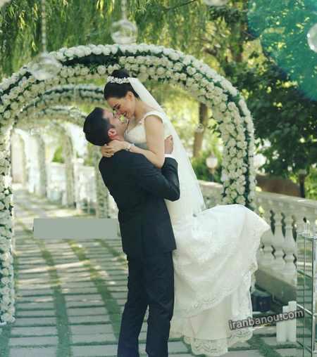 ۷۰ مدل عکس عروس و داماد