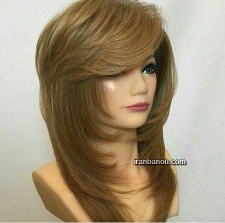 رنگ موی ترکیبی زیبا