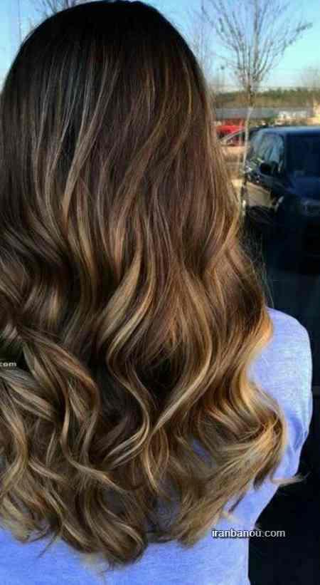 رنگ موی زیتونی