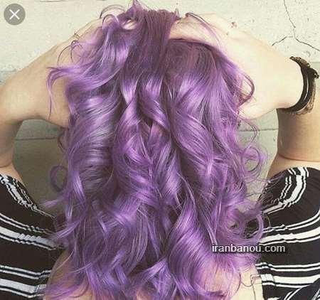 عکس رنگ مو