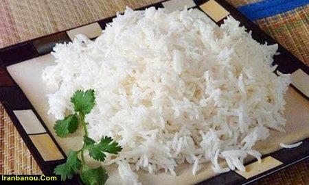 پخت برنج آبکش