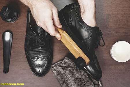 وازلین برای کفش چرم