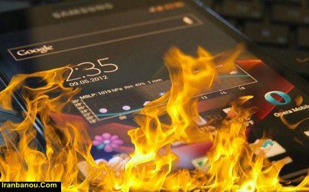 علت داغ شدن گوشی سامسونگ j5