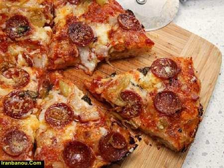 راز خوشمزگی پیتزا