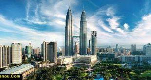 نقشه کشور مالزی