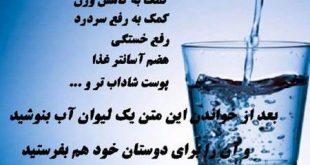 مضرات آب