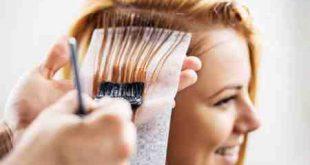 شستن مو بعد از رنگ كردن