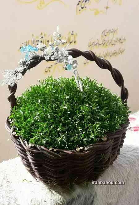 سبزه عید با بذر سیاه دانه انواع مدل سبزه عید 97 به همراه آموزش سبزه های جدید
