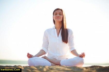 حرکات یوگا برای کاهش اضطراب