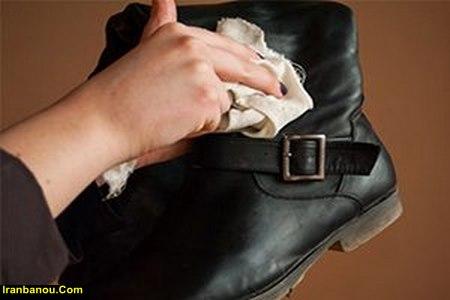 واکس کفش جیر