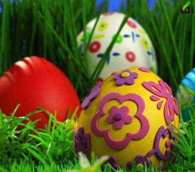 تزیین تخم مرغ عید 93 - آکا,تزیین تخم مرغ, تخم مرغ هفت سین