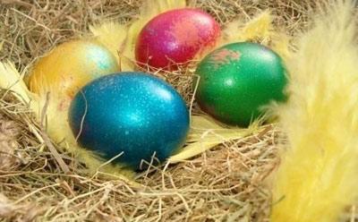 عکس تخم مرغ هفت سین،تزیین تخم مرغ سفره عید،سفره هفت سین ،هنر در خانه