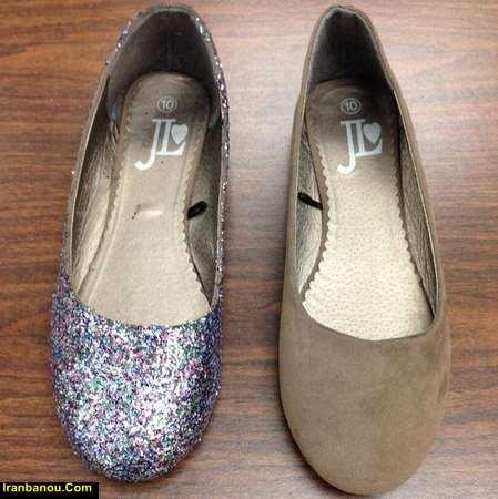 تمیز کردن کفش اسپرت سفید