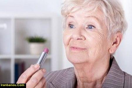 رنگ مو برای خانم های مسن