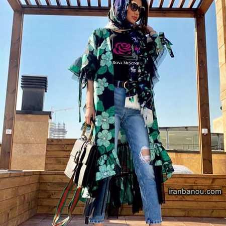 مانتو جلو باز در تهران