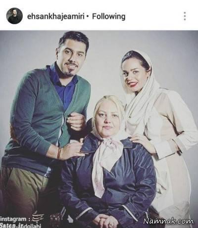 عکس های بازیگران و مادرانشان