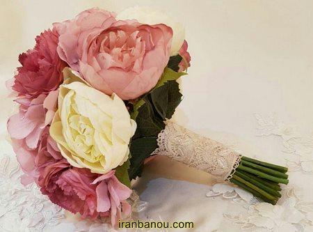 دسته گل ترکیبی عروس