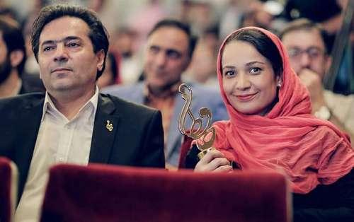 Image result for نسرین نصرتی و همسرش