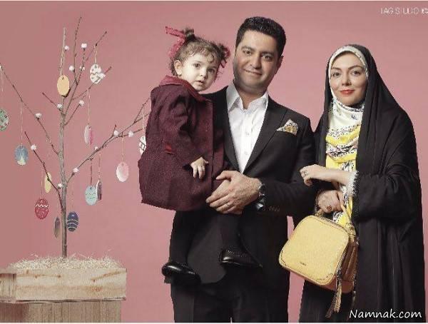 عکس های بازیگران ایرانی و همسرشان