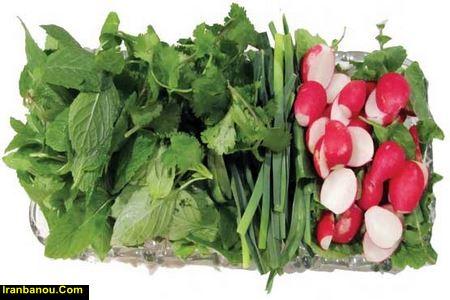 اهمیت مصرف میوه و سبزیجات