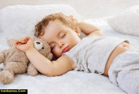 کارهای قبل از خواب کودکان