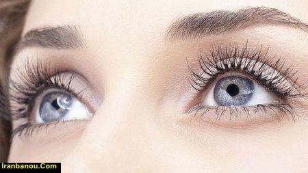بلند شدن مژه چشم