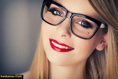 آرایش عینکی ها