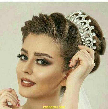 مدل عروس جدید ملکه ای انواع مدل تاج عروس فرحی و ملکه ای جدید 97 و 2019