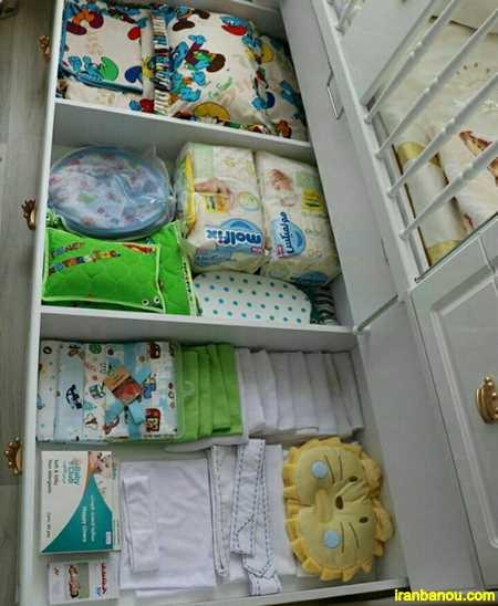 تزیین اتاق نوزاد پسر با وسایل ساده