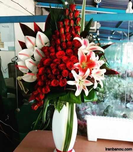 عکس سبد گل برای خواستگاری