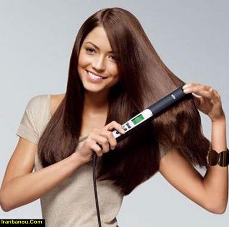 استفاده از اتو مو چه ضررهایی دارد