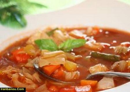 برای خوش طعم شدن سوپ