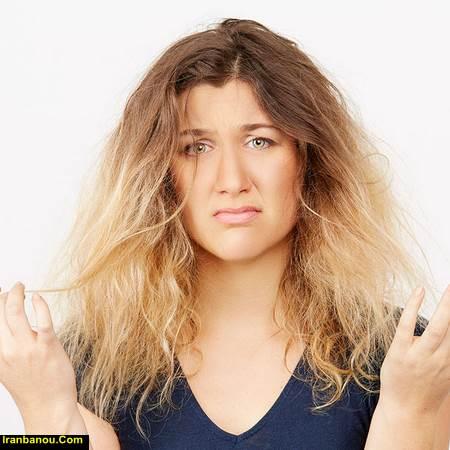 شامپو موی خشک