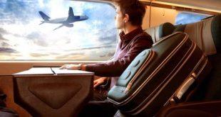 سفر با هواپیما برای اولین بار