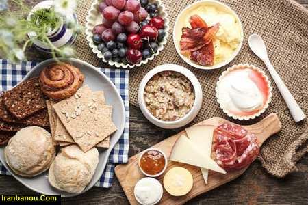 متن در مورد صبحانه