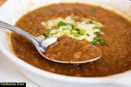طرز تهیه سوپ رشته سبزیجات