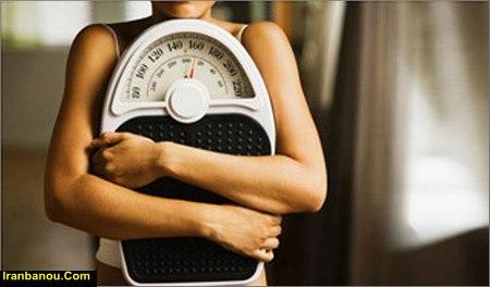 نمونه رژیم تثبیت وزن