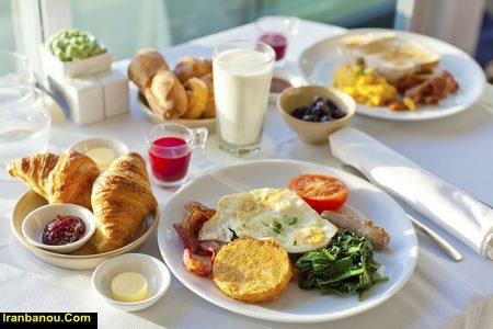 متنی زیبا در مورد صبحانه