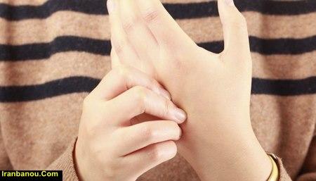 ناراحتی انگشتان دست