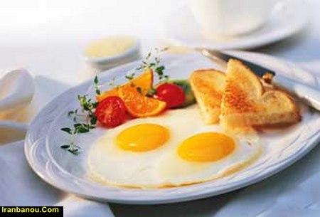 متن عاشقانه برای صبحانه