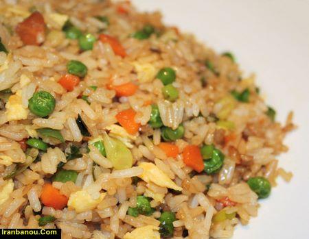 برنج سرخ شده چینی