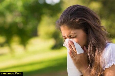 درمان حساسیت فصلی بهار