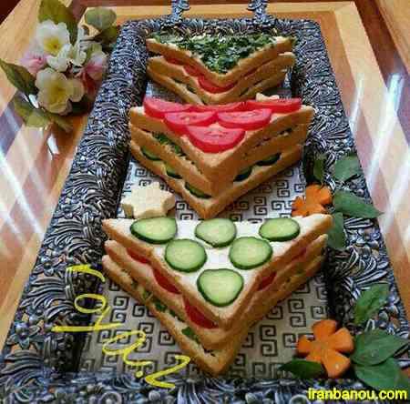 طرز تهیه کیک نان و پنیر