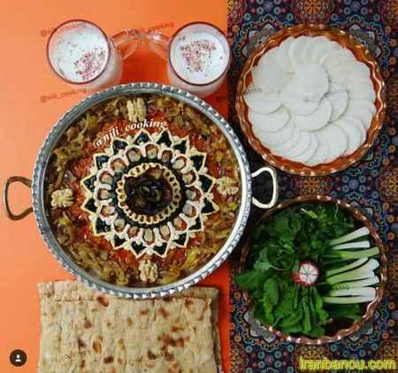 حلیم بادمجان اصفهانی